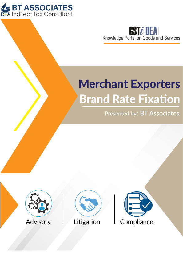 Brand Rate Admissibility for Merchant Exporters